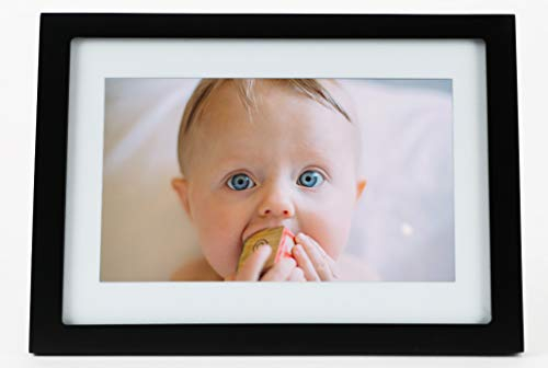 Skylight Frame: 10 inch WiFi Digital Picture Frame, Email Photos from...