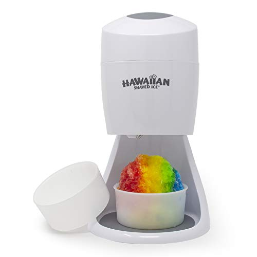 Hawaiian Shaved Ice S900A Shaved Ice and Snow Cone Machine, 120V, White