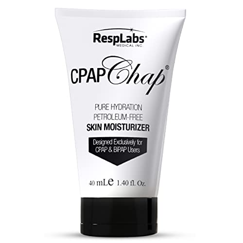 RespLabs CPAP Chap Face Cream, 40ml - Designed Exclusively for CPAP, BiPAP...