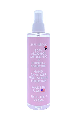 Assurance - Hand Sanitizer Spray, 80% Alcohol Antiseptic, Topical...