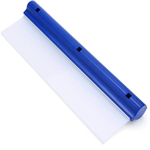 Car Squeegee 12 Inch Flexible T-Bar Water Blade Silicone Squeegee for Car...