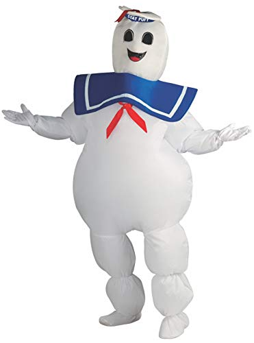 Rubie's Adult Ghostbusters Inflatable Stay Puft Marshmallow Man Costume,...