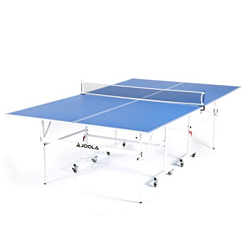 JOOLA Indoor 15mm Ping Pong Table with Quick Clamp Ping Pong Net Set -...