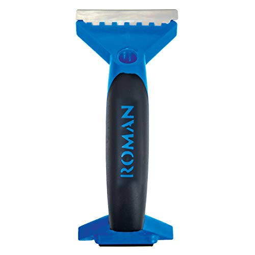 ROMAN Products 202304LW Scraper with Roller, Blue