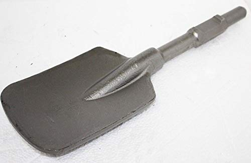 9TRADING Square Clay Spade Scoop Shovel Chisel Bit 1-1/8' Hex Shank 4...