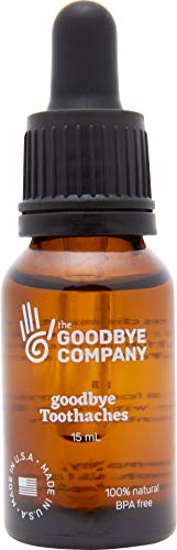 GoodBye Toothaches – Tooth Ache Pain Relief with Clove Bud Oil,...