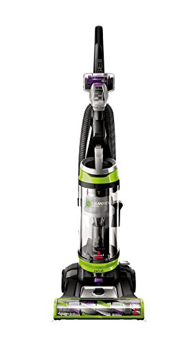 BISSELL 2252 CleanView Swivel Upright Bagless Vacuum Carpet Cleaner, Green...