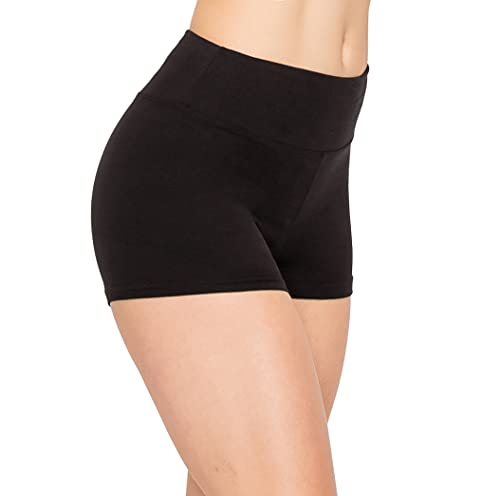 ALWAYS Women Workout Yoga Shorts - Premium Buttery Soft Solid Stretch...