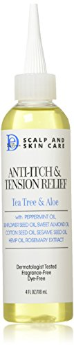 Design Essentials Scalp and Skin Care Anti-Itch and Tension Relief, Tea...