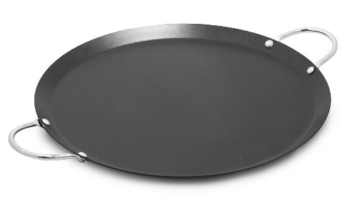 IMUSA USA IMU-52014 11' Nonstick Carbon Steel Small Round Comal with Metal...