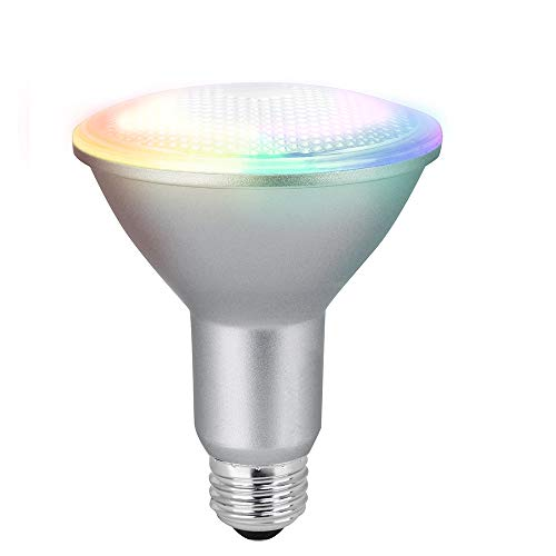 Feit Electric PAR38/RGBW/CA/AG 90 Watt Equivalent WiFi Color Changing and...