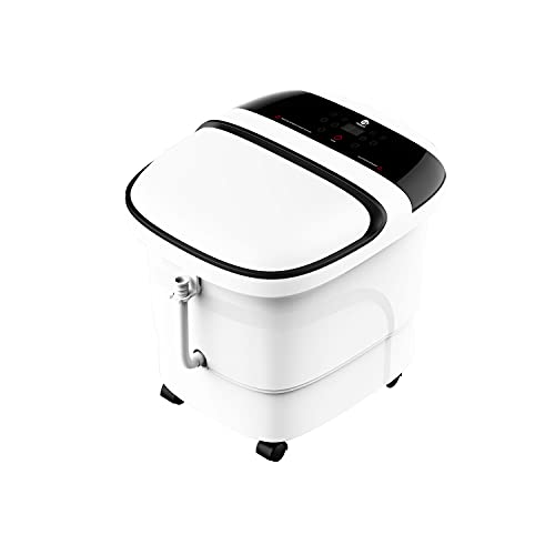 Foot Spa Bath Massager, MASAG A30 Foot Spa Bucket w/Touch Control Panel,...