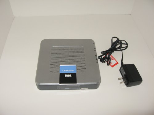 Linksys Broadband Router with 2 Phone Ports RTP300 - Router - 4-port switch...