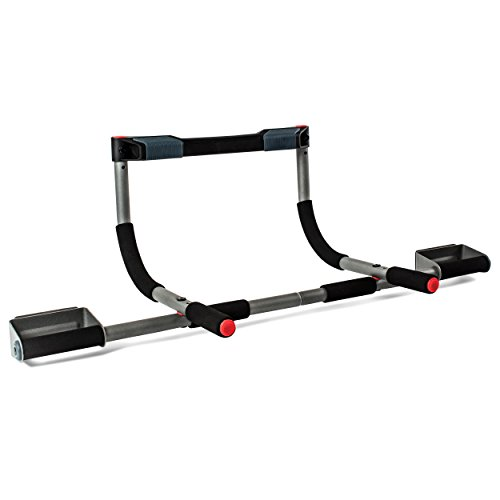 Perfect Fitness Multi-Gym Doorway Pull Up Bar and Portable Gym System, Pro