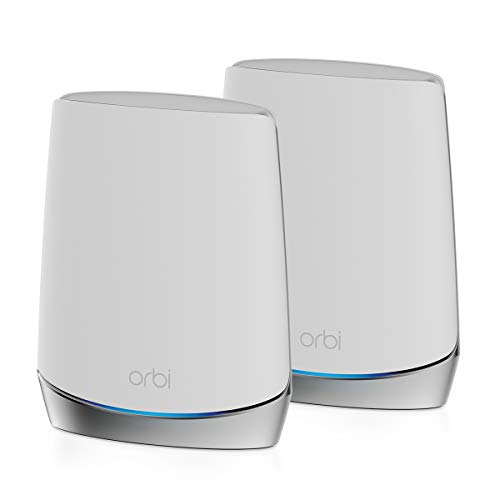 NETGEAR Orbi Whole Home Tri-band Mesh WiFi 6 System (RBK752) – Router...