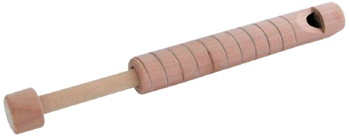 Schylling Wood Slide Whistle Toy , Cream