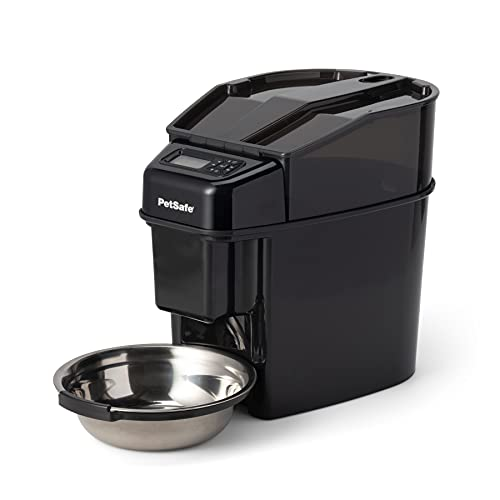 PetSafe Healthy Pet Simply Feed - Automatic Dog and Cat Feeder - Slow Feed...