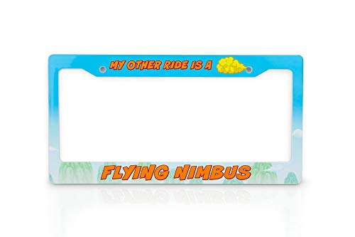 JUST FUNKY Dragon Ball Z License Plate Frame | My Other Ride is A Flying...
