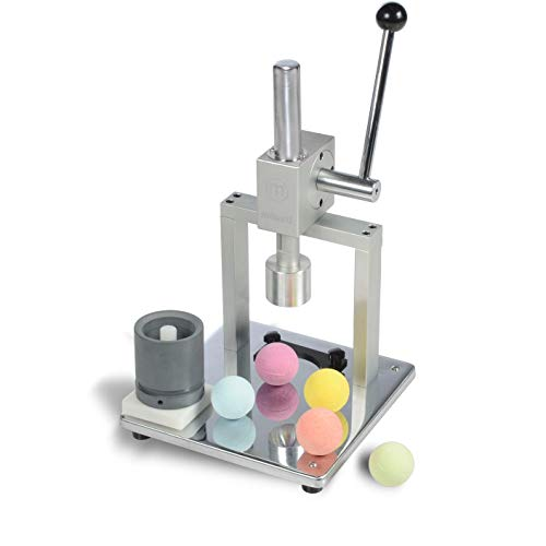 Milliard Bath Bomb Press Stainless Steel - Manual for DIY and Commercial...