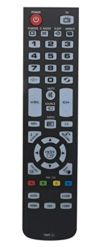 AULCMEET RMT-21 Remote Control Compatible with Westinghouse LCD LED TV...