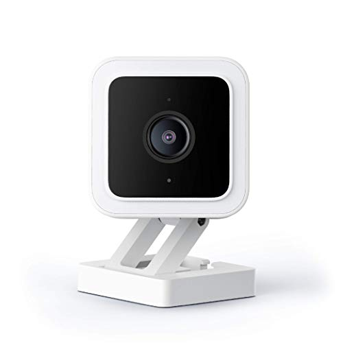 WYZE Cam v3 with Color Night Vision, Wired 1080p HD Indoor/Outdoor Video...