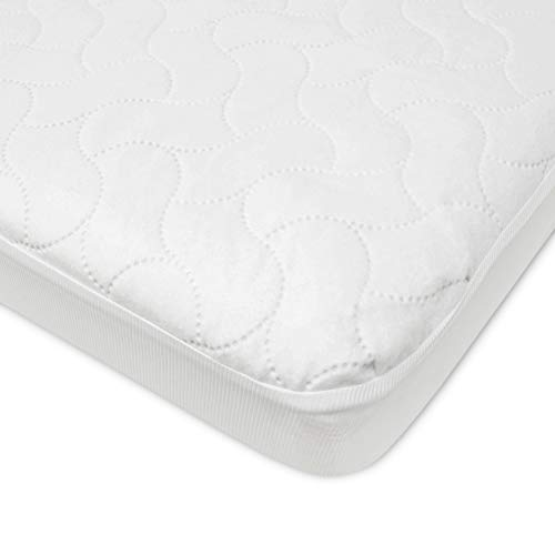 American Baby Company Waterproof Fitted Crib and Toddler Protective...