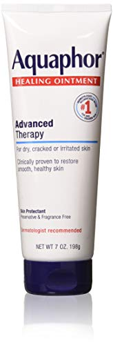 Aquaphor Healing Ointment Advanced Therapy Skin Protectant, 7 Ounce (Pack...