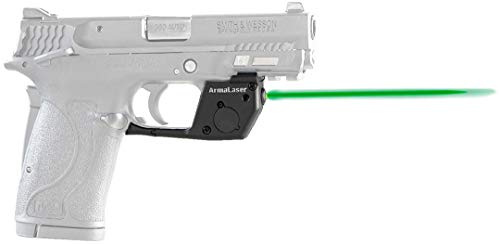 ArmaLaser TR28G Designed to fit S&W M&P 380 Shield EZ, M&P 22 Compact and...