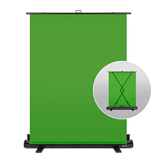 Elgato Green Screen - Collapsible Chroma Key Panel for Background Removal...
