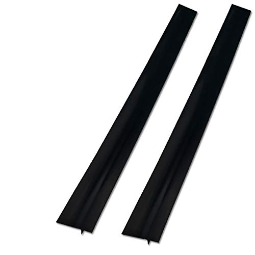 2 Pack Silicone Stove Counter Gap Cover, 25 inch Long Kitchen Counter Gap...