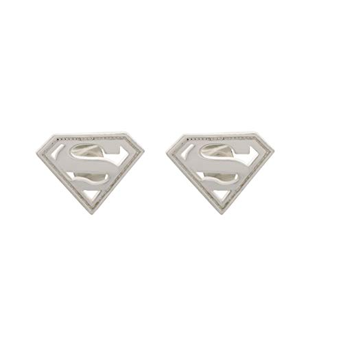 DC Comics Officially Licensed Jewelry for Women, Sterling Silver Superman...
