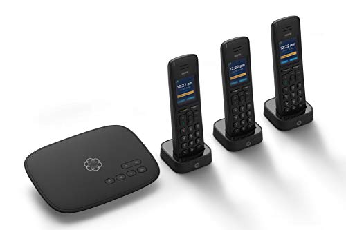 Ooma Telo VoIP Free Internet Home Phone Service with 3 HD3 Handsets....