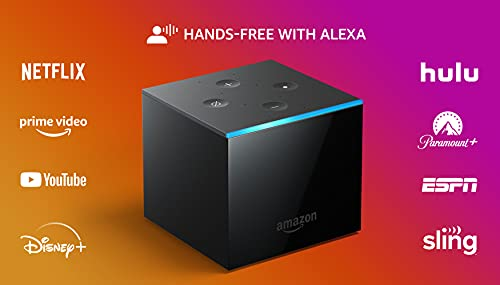 Fire TV Cube | Hands-free streaming device with Alexa | 4K Ultra HD | 2019...