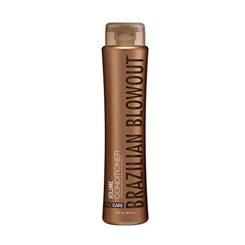 BRAZILIAN BLOWOUT Volume Conditioner, 12 Fl oz, Packaging May Vary