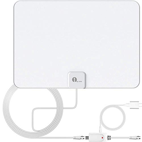 Amplified HD Digital TV Antenna - Support 4K 1080p and All Older TV's -...