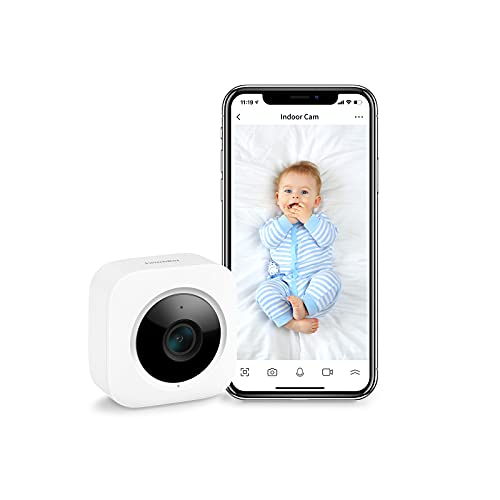 SwitchBot Security Indoor Camera, Motion Detection for Baby Monitor 1080P...