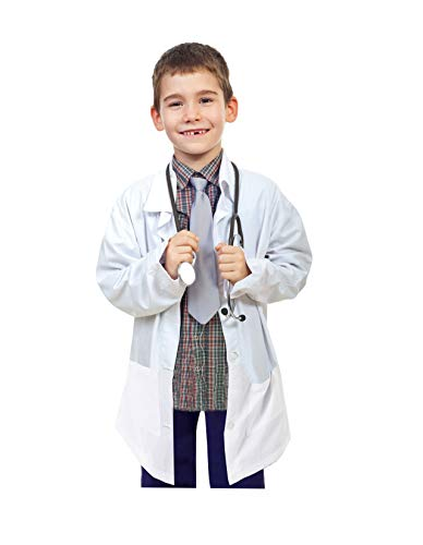Natural Uniforms Childrens Lab Coat-Soft Touch (5/6) White