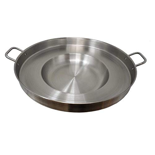Heavy Duty Concave Comal Stainless Steel Acero Inoxidable Outdoors Cazo...