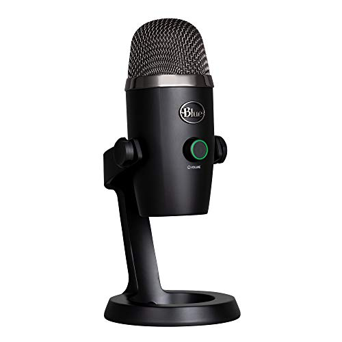 Blue Yeti Nano USB Microphone for PC & Mac, Gaming, Streaming and Recording...