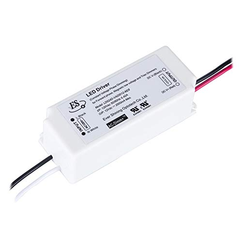 Dimmable LED Driver 12V 24W Triac Dimming LED Power Supply IP67 Waterproof,...