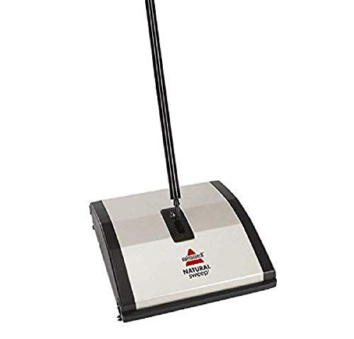Bissell Natural Sweep Carpet and Floor Sweeper with Dual Rotating System...