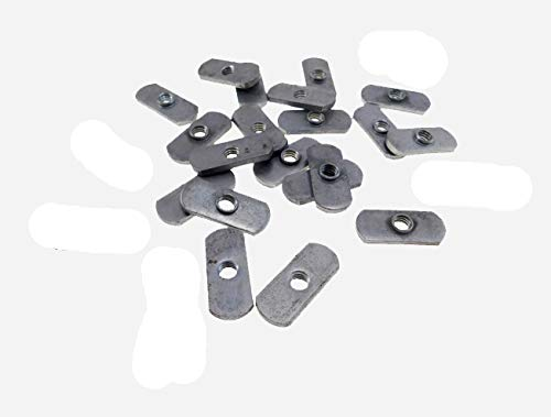 20 Pack 5/16-18 Spot Weld Nuts - Double Tab - ND 2724