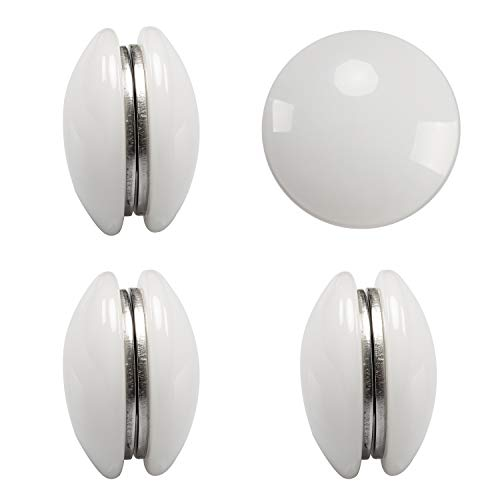 Magnetic Curtain Weights 4 Sets - Used as Shower Curtain Weights, Drapery...