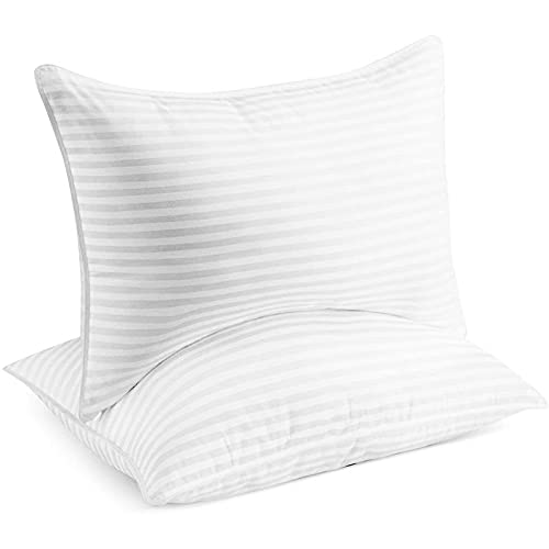 Beckham Hotel Collection Bed Pillows for Sleeping - Queen Size, Set of 2 -...