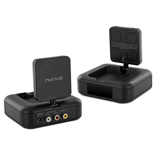 Nyrius 5.8GHz 4 Channel Wireless Video & Audio Transmitter & Receiver with...