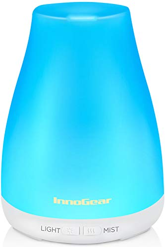 InnoGear Essential Oil Diffuser, Upgraded Diffusers for Essential Oils...