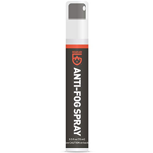 GEAR AID Anti-Fog Spray and Cleaner for Goggles, Masks and Glasses, 0.5 fl...