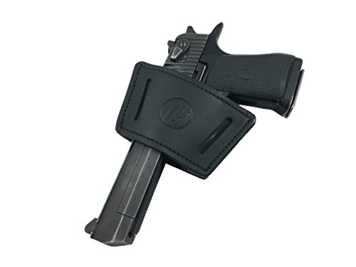 1791 Universal Large Leather Gun Holster, OWB / IWB CCW Holster, Right and...