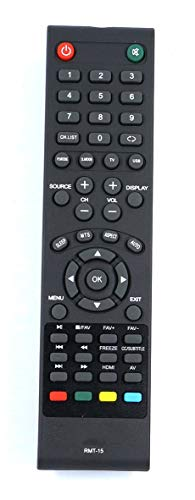 RMT-15 Remote Control Compatible with Westinghouse TV EW24T7EW CW37T6DW...