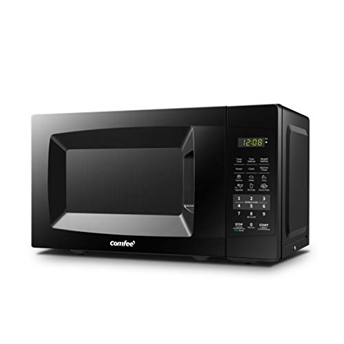 COMFEE' EM720CPL-PMB Countertop Microwave Oven with Sound On/Off, ECO Mode...
